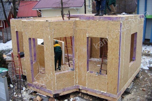Дом из сип своими руками пошаговая инструкция